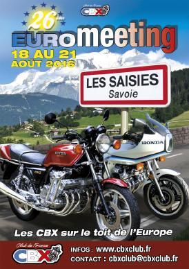 Honda CBX 1000 Eurotreffen 2016