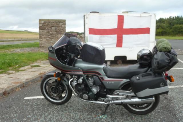 Grenze Schottland / England